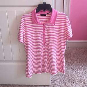 Women's Striped Button Down